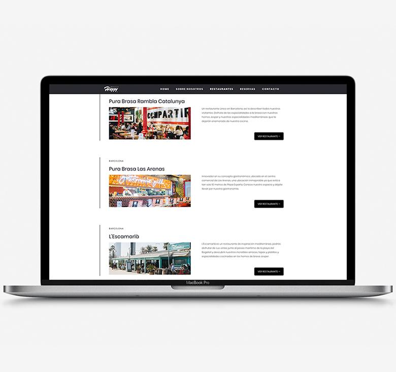 Web-HappyRestaurants